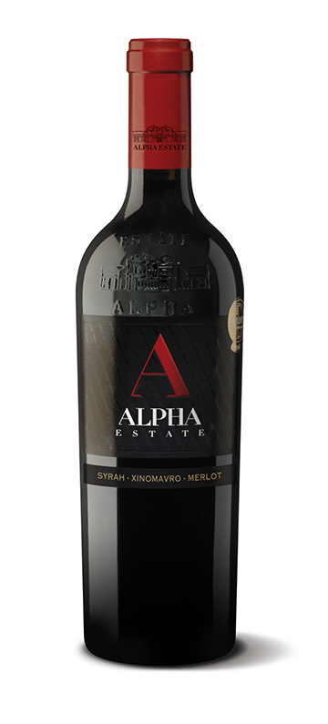 Alpha Estate Syrah Xinomavro Merlot - $44.33 per bottle in case of 12