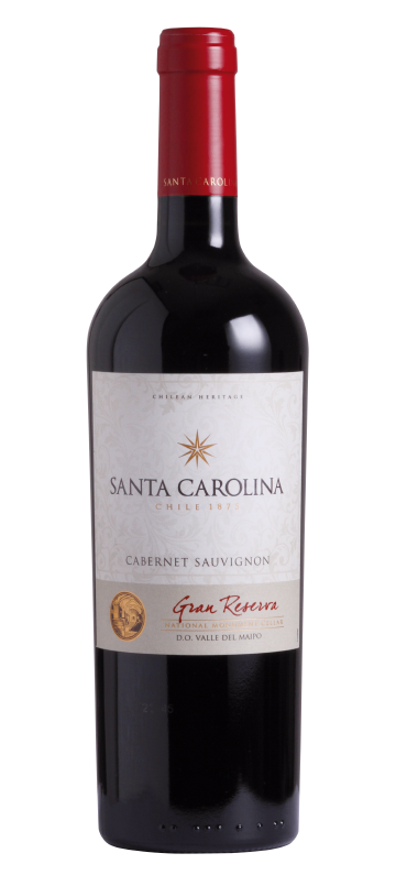 Kết quả hình ảnh cho santa carolina gran reserva cabernet sauvignon